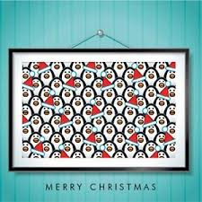 Festive Penguins (Christmas cards) | eBay