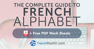Ok, this isn't strictly part of the french alphabet, but french punctuation is a bit different from english. Learn The French Alphabet With The Free Ebook Frenchpod101