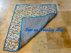 Portable Cutting Mat and Ironing Board Case - Free DIY | Ironing ... & How to Sew an Ironing Mat (Great for Quilting) | Right Side Wrong Side Adamdwight.com