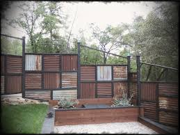 corrugated metal fence and roofing ideas metals roof made using old gardens fences