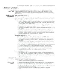 Sample Salesperson Resume Retail Salesperson Resume For Sales Person Sample Orlandomoving Co