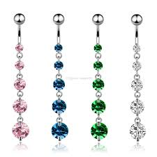 2018 new 316l snless steel tel navel belly on ring bar dangle body piercing jewelry canada 2019 from redapple999 cad 1 62 dhgate canada