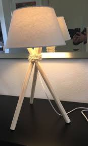Diy Tripod Lamp Diy Light Lamp Tripot Drie Poot Lamp 2
