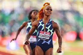 U.S. sprinter Sha'Carri Richardson ...