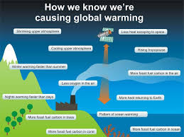 Flow Chart Of Causes Of Global Warming Infographic How We Know Were Causing Global Warming