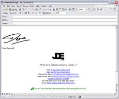 Top Ten Email Signatures The Design Work