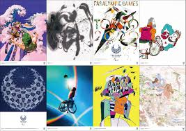 Hirohiko araki ( 荒木 飛呂彦) is a japanese manga artist. Tokyo 2020 Official Licensed Product For The Paralympic Games Official Art Posters Collection