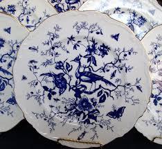 1950'S Dinnerware Patterns Enchanting COALPORT CAIRO BLUE 48 C4848 DINNER PLATEs BLUE MARK