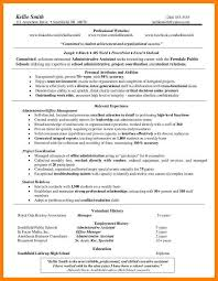 5 Functional Resume For Administrative Assistant Reptile