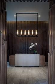 modern minimal lounge lighting. Minimal Accessories And Modern Lighting Fixture At The Entrance Lounge S