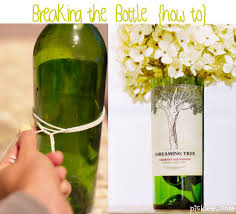 How to cut a bottle without using any cutter. SO COOL. Notice it\u0027s ...