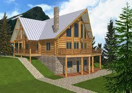 3300 sqft log cabin home design coast mountain log homes log cabin homes designs