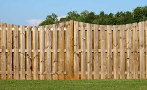 garden fence. Garden Fence With Wavy Top