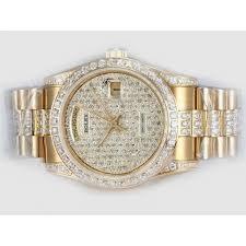 rolex watches day date uk eta 2836 movement full gold rolex watches day date uk eta 2836 movement full gold diamonds dial r586
