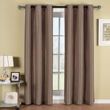 soho thermal blackout grommet top curtain panels single inspiration of white cotton curtain panels