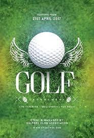 Golf Tournament Flyer Samples Brochure Template – Custosathletics.co
