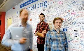 facebook office in dublin. Facebook Employees Ziad Traboulsi, From Lebanon, And Mats Lyngstad, Norway, At The Dublin Office. Photograph: Alan Betson Office In
