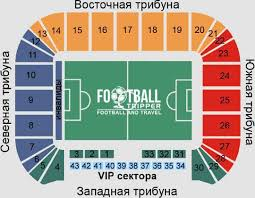Kiev Olympic Stadium Seating Chart Dnipro Arena Fc Dnipro Dnipropetrovsk Football Tripper