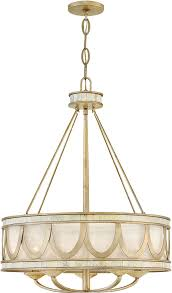 fredrick ramond fr48055cpg sirena contemporary champagne gold drum ceiling light pendant loading zoom