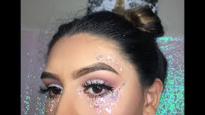 coaca rave makeup look