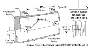 blind nailing procedure diagram texas home exteriors