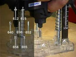 dremel router bits. dremel® router bits - example of use dremel a