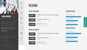 Wordpress Resume Template 50 Best Vcard Resume Wordpress Themes 2017  Freshdesignweb Printable