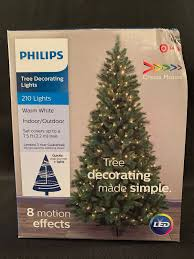 Philips Motion Effects Christmas Lights Philips 210 Led Warm White Indoor Outdoor Christmas Lights 8 Motion Effects