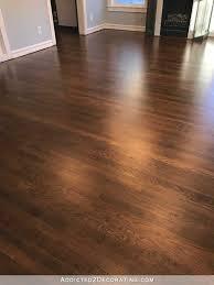 hardwood floors. Refinished Red Oak Hardwood Floors - Entryway And Living Room F