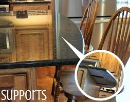 granite bar support bar supports dseq603 raised bar after s4x3 kitchen countertops