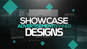 Youtube Photoshop Design Photoshop Tutorial Creating Showcase Ad Banner Designs