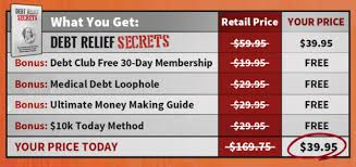 Here are important steps to requesting relief. Debt Relief Secrets 30 Day Debt Free Membership Club Guide