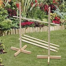 Wooden Limbo Game Large 100100M Wooden Limbo Game Pole Bar KidsAdults Garden Indoor 13