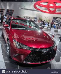 Detroit, MI, USA. 12th Jan, 2015. Toyota Camry dazzles at the ...
