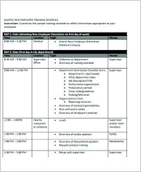 new employee orientation schedule new employee orientation template presentation hire ideas program