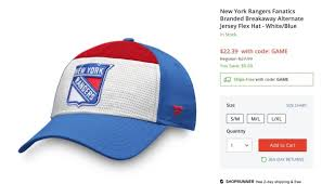 Fanatics Hat Size Chart Sorry Rangers Fans Hat For Sale Online Isnt A Sign Of A