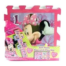 cool minnie mouse play mat 8 piece mouse soft foam hopscotch play mat off minnie mouse