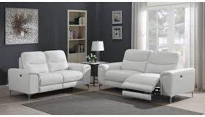 white leather recliner sofa set azspring