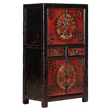black lacquer paint for furniture. This Attractive Cabinet Is Based On The Simple Red And Black Lacquer Painted Furniture Of Gansu Paint For U