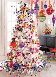 Holiday menagerie Christmas tree decorating theme - A Colorful tree for the  kids