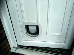 install doggie door installation cost glass pet a cat dog through brick wall new we know