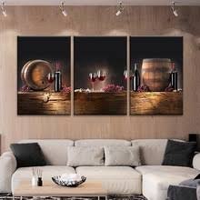 3 panel canvas painting wine barrels 3 multi panel print home decor paintings modern wall pictures on wine barrels multi panel canvas wall art with buy wine barrel painting and get free shipping on aliexpress