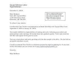 Sample Reference Letter Template For Employee Recommendation Job
