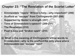 Chapter 23 The Revelation of the Scarlet Letter