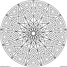 Printable Coloring Pages geometric shape coloring pages : Coloring Download. Geometrical Design Coloring Pages: Geometrical ...