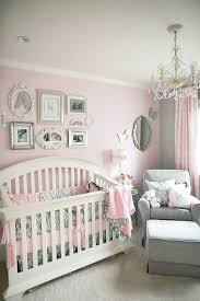 Light Pink Baby Girl Nursery Soft And Elegant Gray And Pink Nursery Pink Gray Nursery
