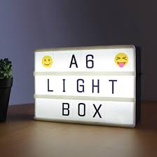 Detail Feedback Questions About Combination Cinematic Light Box A6
