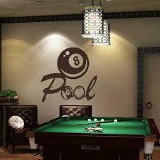 pool room wall hangings