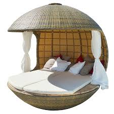 organic furniture design. Comfortable Cocoon Bed For Beach Daybed : Intricate And Organic Design Of The Tree Furniture