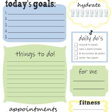 Daily To Do List Examples Free Printable Daily To Do List Thats What Che Said